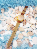 Vintage Lorus Mickey Mouse Watch | Gold-Tone Disney Quartz Watch - Vintage Radar