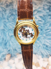 Load image into Gallery viewer, Vintage Armitron Tasmanian Devil Watch |  Looney Tunes Gold Tone Character Watch - Vintage Radar