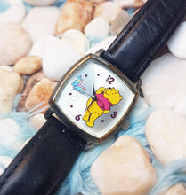 Load image into Gallery viewer, Square Winnie The Pooh Seiko Watch | Disney Vintage Watch - Vintage Radar