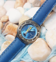 Load image into Gallery viewer, Seiko Tinkerbell Fairy Watch | Blue Disney Princess Watch - Vintage Radar