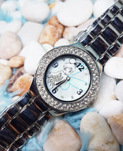 Load image into Gallery viewer, Luxury Tinkerbell Disneyland Watch | Silver-Tone Retro Gift Watch - Vintage Radar