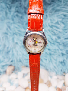 Rare Mickey Mouse Disney Watch | Seiko Silver-Tone Vintage Gift Watch - Vintage Radar