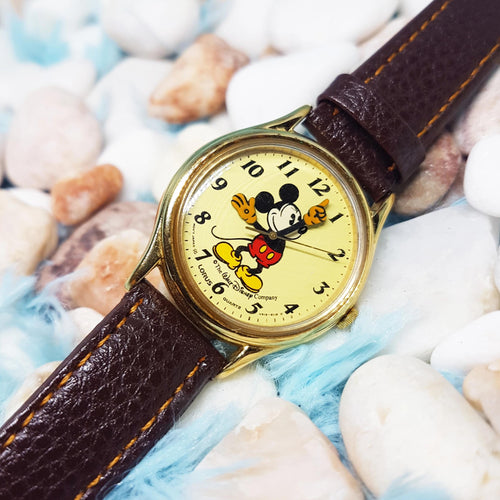 Mickey Mouse Lorus Watch | Walt Disney World Carácter Watch-Vintage Radar
