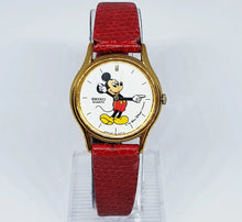 Load image into Gallery viewer, Mickey Mouse Seiko Quartz Watch | 90s Authentic Seiko Disney Watch - Vintage Radar