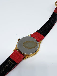 Mickey Mouse Seiko 4N01 0129 Watch | 80s Authentic Seiko Disney Watch - Vintage Radar