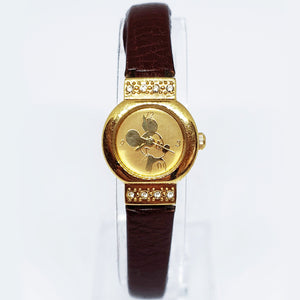 Mickey Mouse Disney Seiko MU0539 Watch | Ladies Antique Diamond Style Watch - Vintage Radar