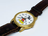 Elegant Vintage Mickey Mouse Disney Watch | SII Marketing by Seiko Watch - Vintage Radar