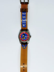 Colorful Vintage Mickey Mouse Watch | SII Marketing by Seiko Watch - Vintage Radar