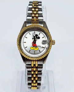 Vintage Mickey Mouse Seiko Watch | Disney Watch For Her - Vintage Radar