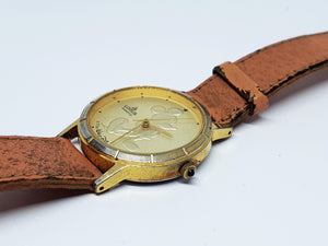 Gold-Tone Lorus Mickey Mouse Quartz Watch | Walt Disney Company Watch - Vintage Radar