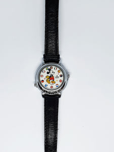 Musical Lorus Mickey Mouse Watch | World Flags V421-0020 Lorus Watch - Vintage Radar
