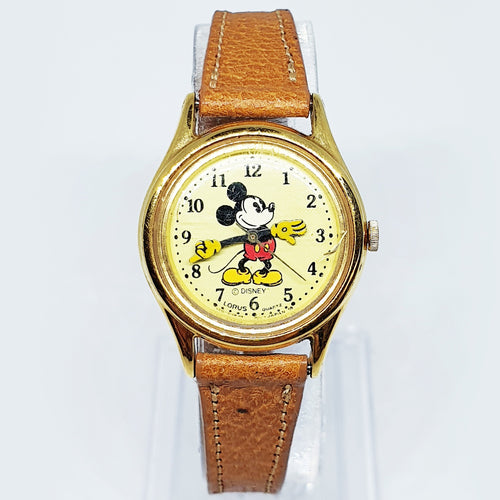 Vintage Lorus Mickey Mouse Quartz Watch | V515-6128 HR2 Lorus Watch - Vintage Radar