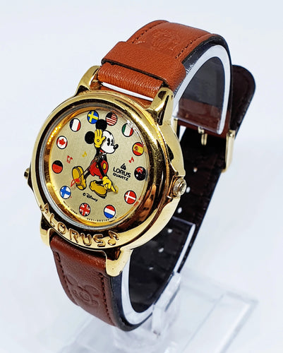 Lorus Musical Mickey Mouse Watch | Vintage Disney Watches - Vintage Radar