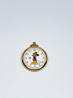 Lorus V501-0A28D1 Mickey Mouse Disney Pocket Watch | 80s Pocket Watches - Vintage Radar