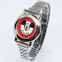 Load image into Gallery viewer, Disney Limited Edition Mickey Mouse Watch | Vintage Red Dial 90's Watch - Vintage Radar