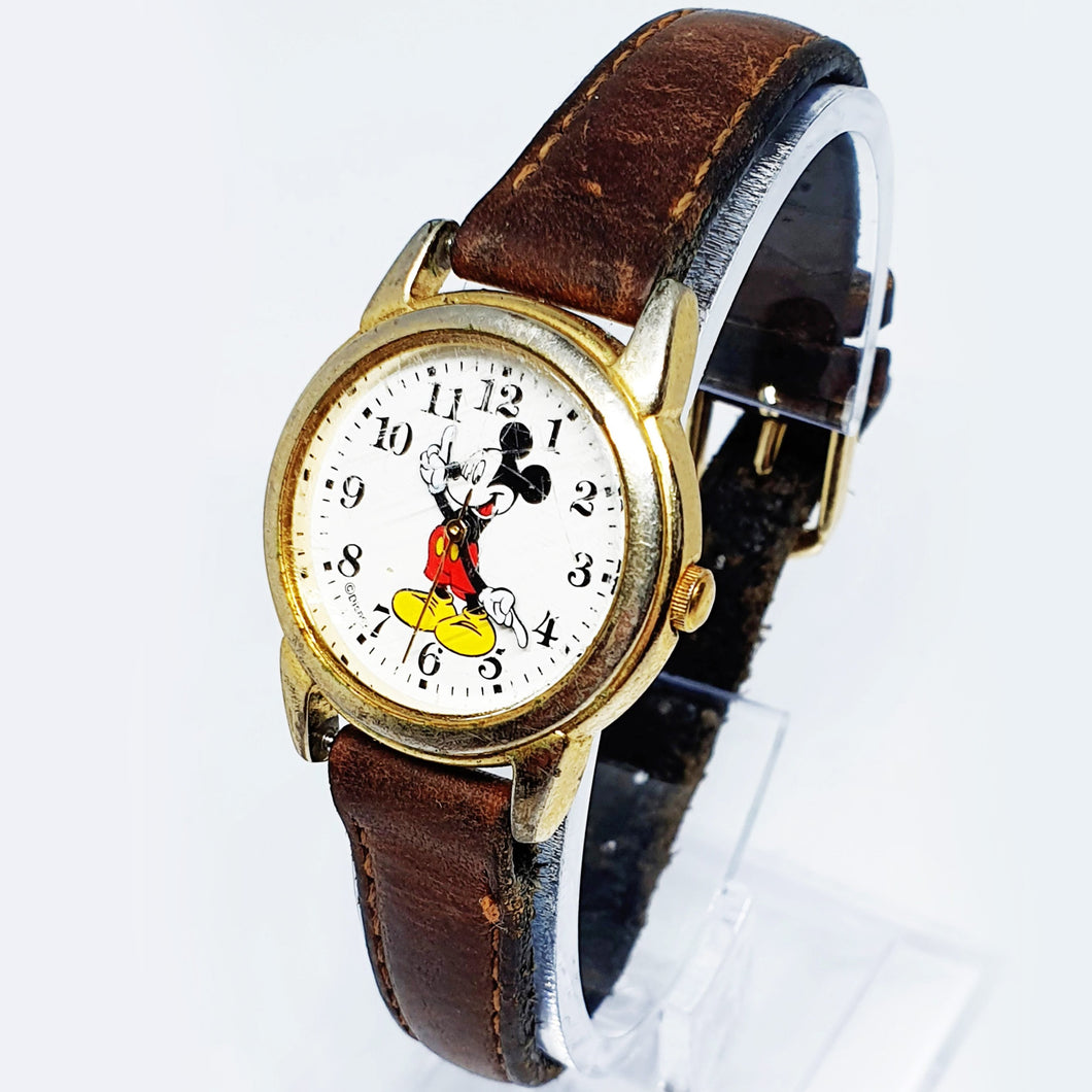 Classic Mickey Mouse Vintage Watch | Affordable Best Price Disney Watch - Vintage Radar