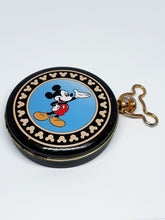 Load image into Gallery viewer, 90s Rare Railroad Conductor Mickey Mouse Verichron Pocket Watch - Vintage Radar