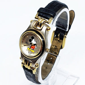 Luxury Vintage Mickey Mouse Date Watch | Authentic Disney Parks Watch - Vintage Radar