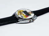 Mickey And Pluto Disney LCD Vintage Watch | Bradley Quartz Mickey Mouse Watch - Vintage Radar
