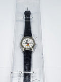 Classic Disney Time Works Mickey Mouse Wristwatch | Vintage Disney Watch - Vintage Radar