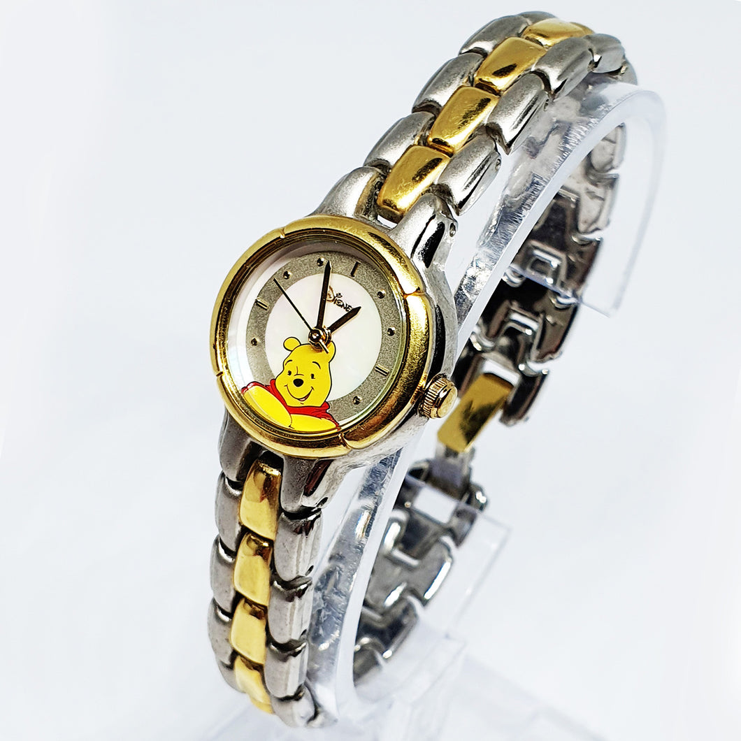Winnie The Pooh Vintage Seiko Watch | Two-Tone Disney Luxurious Watch - Vintage Radar