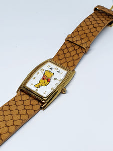 Square Dial Vintage Winnie The Pooh Watch | Classic Gift Watches - Vintage Radar