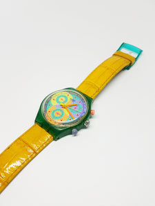 SOUND SCL102 Swatch Watch | 90s Vintage Chronograph Swatch