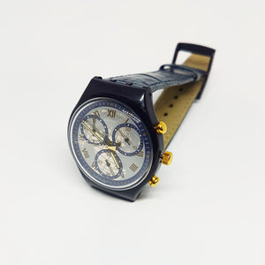 TIMELESS ZONE SCN104 Swatch Watch Chrono | 90s Swiss Chronograph
