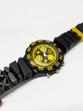 Load image into Gallery viewer, TRUCK DRIVER SBB103 Scuba Swatch | 90s Swiss Chronograph Watch