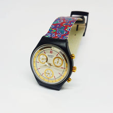 Load image into Gallery viewer, AWARD SCB108 Swatch Watch Chrono | 90s Vintage Swatch Watches
