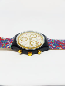 AWARD SCB108 Swatch Watch Chrono | 90s Vintage Swatch Watches