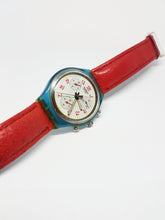 Load image into Gallery viewer, 1991 JFK SCN103 Vintage Swatch Chronograph Watch | 90s Swiss Watch