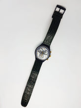 Load image into Gallery viewer, TIMELESS ZONE SCN104 Swatch Watch | 1991 Vintage Swatch Chronograph