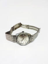 Load image into Gallery viewer, Silver-Tone ACTION 17 Rubis Automatic Watch | Mechanical Watches For Men - Vintage Radar