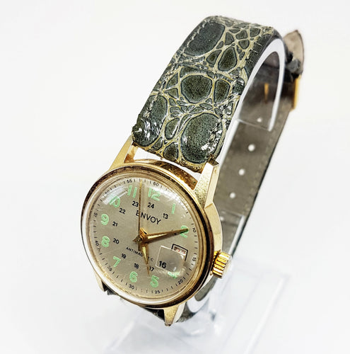 Retro ENVOY Antimagnetic Mechanical Watch | Vintage Women's Watches - Vintage Radar