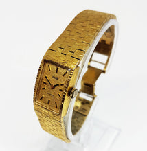 Load image into Gallery viewer, Gold-Tone CORVETTE Mechanical Women's Watch | Swiss Made Watches - Vintage Radar