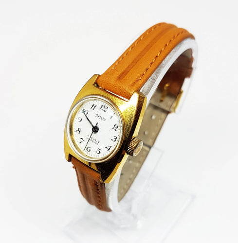Small Aristo Gold-Tone Watch For Ladies | Gift Vintage Watches For Women - Vintage Radar