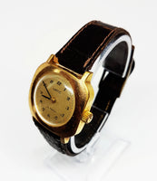 Square VATIC Mechanical Watch | Gold-Tone Watch For Women - Vintage Radar