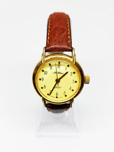 Elegant New Classic Gold-Tone Mechanical Wristwatch | 90's Watches - Vintage Radar