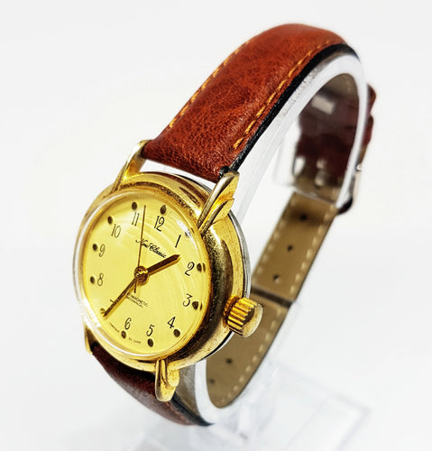 Elegant New Classic Gold-Tone Mechanical Wristwatch | Vintage Watches - Vintage Radar
