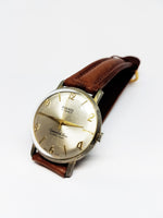 PUERTA 17 Jewels Ultra Flat Mechanical Vintage Watch | Swiss Made Watch - Vintage Radar