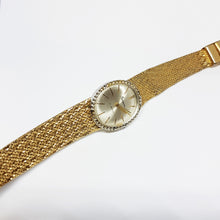 Load image into Gallery viewer, Gold-Tone Geneva Mechanical Watch For Women | Best Vintage Watches - Vintage Radar
