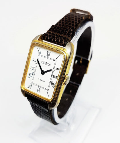 Mortima De Luxe 17 Jewels Mechanical Watch | Vintage Dress Watches