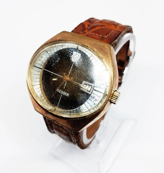 Antique Riesser Automatic Watch For Him | Men's Mechanical Watch - Vintage Radar