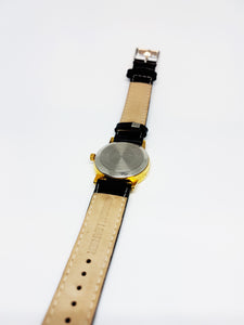 Black Dial Minimalist Vintage Mechanical Watch | Rare Automatic Watches - Vintage Radar