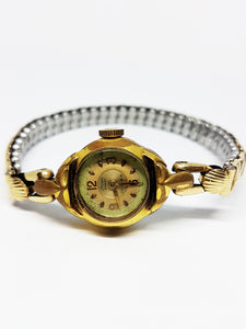Antique Stowa Parat Mechanical Watch | Gold Plated Vintage Watches - Vintage Radar