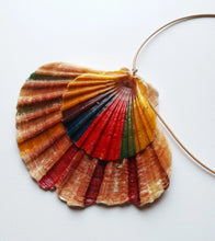 Load image into Gallery viewer, Handpainted Seashell Double-Layered Necklace - Vintage Radar