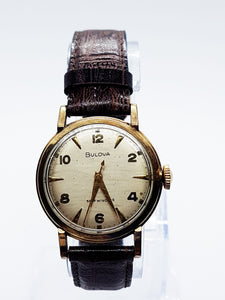 Vintage Bulova Automatic Self-Wind Watch | Men's Bulova Watches - Vintage Radar