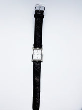 Load image into Gallery viewer, Square Silver-Tone Bulova Vintage Watch | Bulova Watches Collection - Vintage Radar