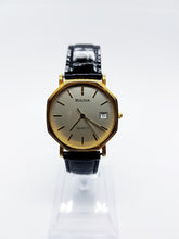 Load image into Gallery viewer, Gold-Tone Geometric Bulova Vintage Watch | Bulova Quartz Watch - Vintage Radar